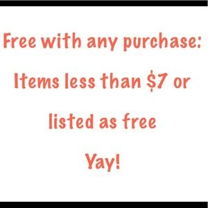 Other - Free goodies!